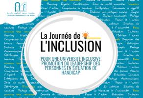 La journée de l'inclusion à l'Université Mohammed V de Rabat : le 07 Décembre 2019