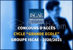 Concours d'accès au cycle Grande Ecole de l'ISCAE 2020/2021